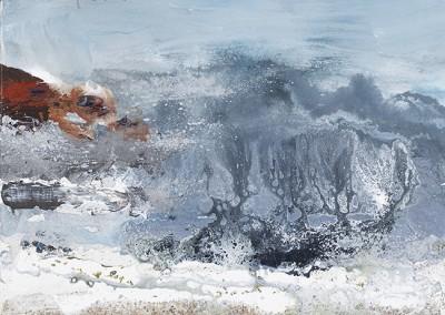 Porthmeor ground sea. 2013.