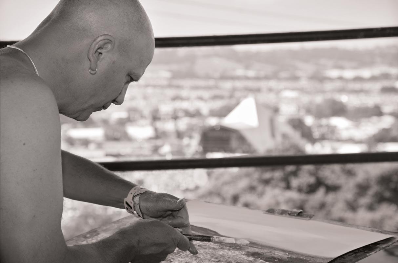 Kurt Painting, Pyramid Stage