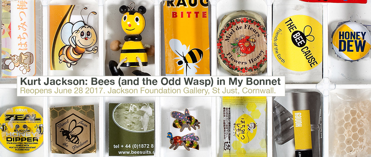 Kurt Jackson: Bees (and the Odd Wasp) in My Bonnet