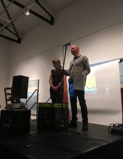 Kurt and Caroline Jackson Announce the Winner of the Prize Draw