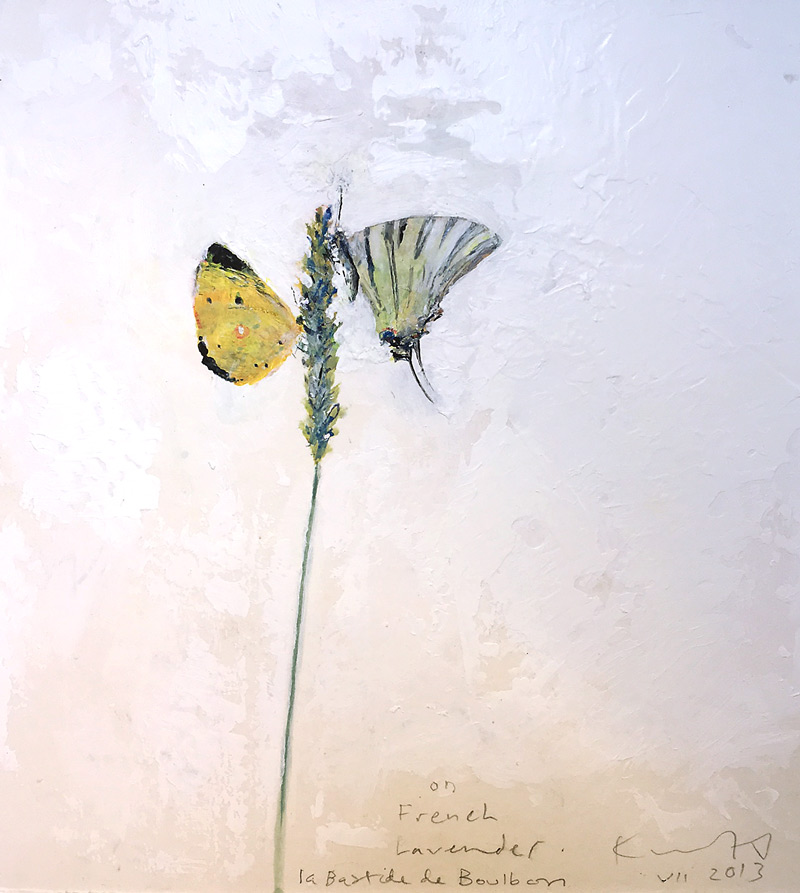 Kurt Jackson: On French Lavender. 2013.