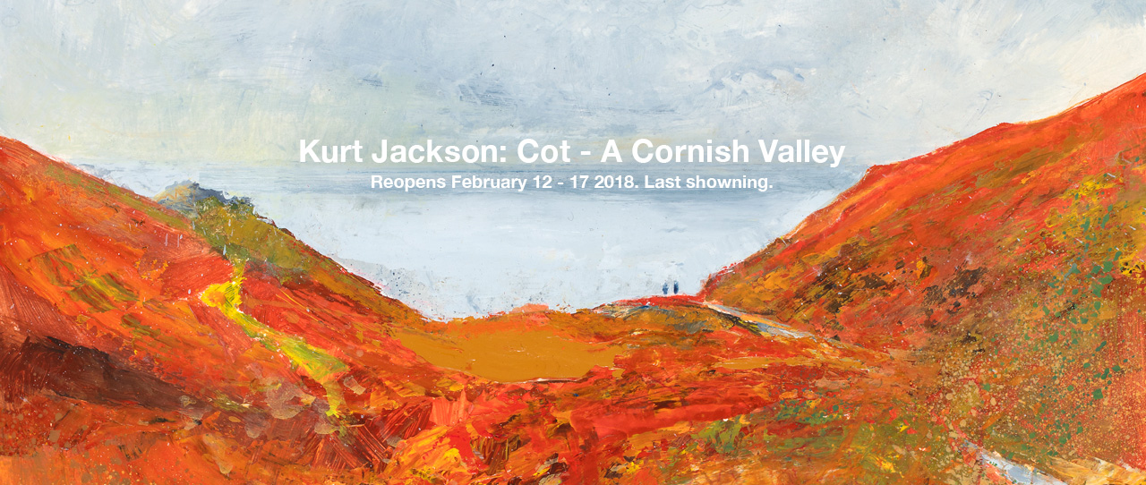 Kurt Jackson: Cot - A Cornish Valley
