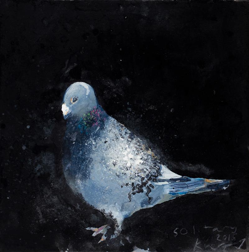 Pigeonholed Kurt Jackson for Prisoners of Conscience