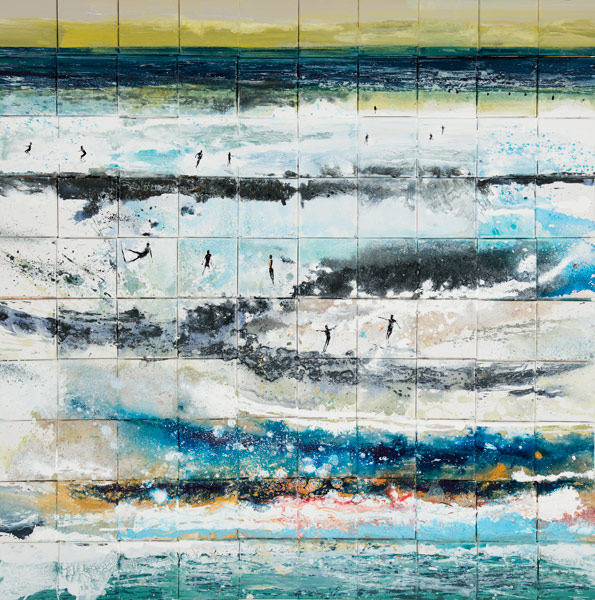 Kurt Jackson: 100 Canvasses Set Adrift. 2016.