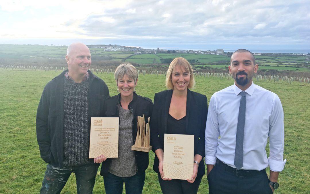 Jackson Foundation Wins Sustainability Awards!