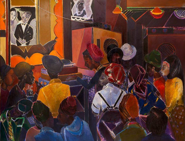 Denzil Forrester: Jah Shaka. 1983.