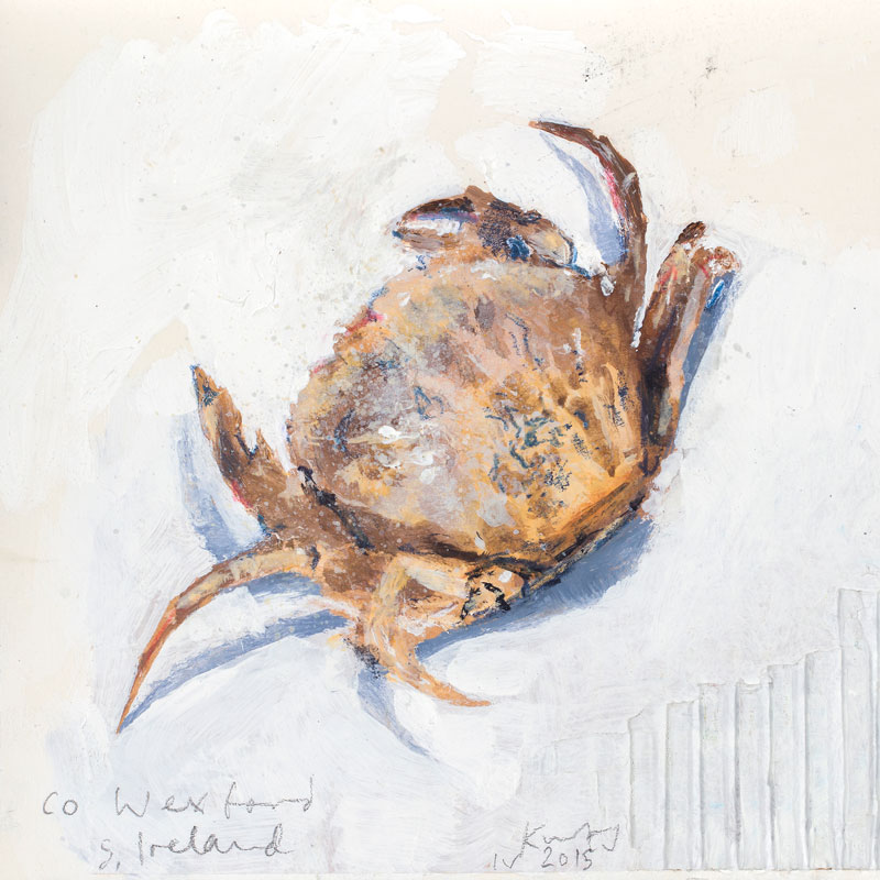 Kurt Jackson - Crab and Lobster