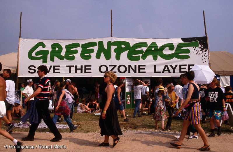 You helped to raise £18,500 for Greenpeace!